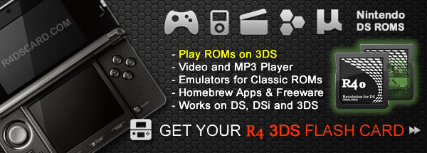 Buy Nintendo 3DS R4